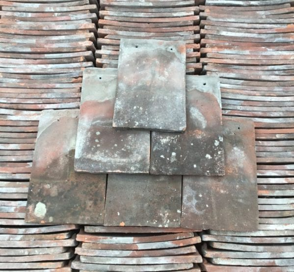 Handmade Clay Loughborough Nib Tile