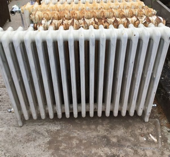 Reclaimed Cathedral Radiator 4 Bar