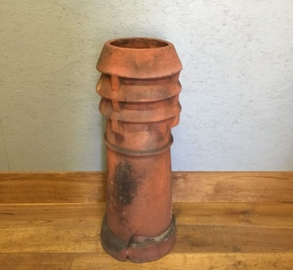Terracotta Louvred Pot