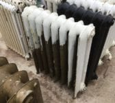 Half Painted Reclaimed Princess Radiator