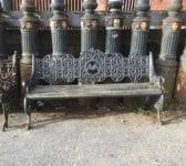 Cast Iron Camden Stables Market Bench