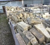 Reclaimed York Stone Walling