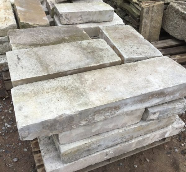 Reclaimed Portland Stone Coping