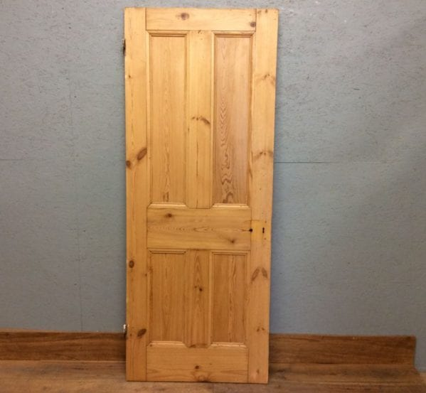 Stripped 4 Panelled Door Glossy