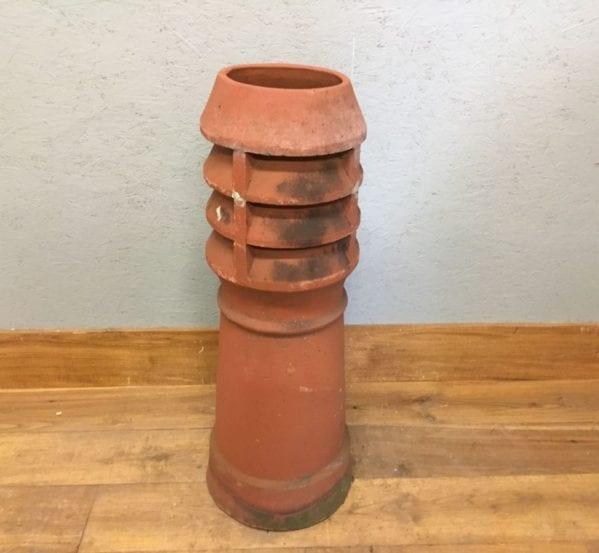 Reclaimed Chimney Pot Terracotta Louvred