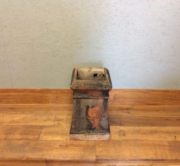 Square Based Terracotta Chimney Pot