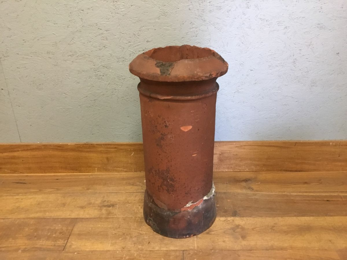 Damaged Reclaimed Cannon Chimney Pot