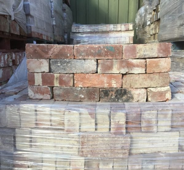 Red Wire Cut Brick Batch