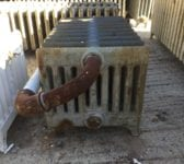 9 Bar Reclaimed Radiator