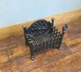 Elaborate Cast Iron Fire Basket