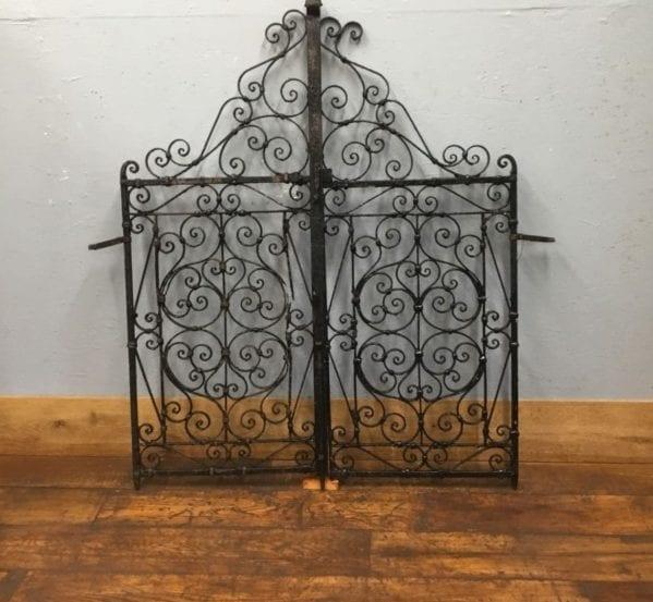 Highly Ornate Iron Gate