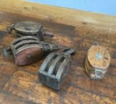 Ships Wood & Cast Iron Pulley Block Selection