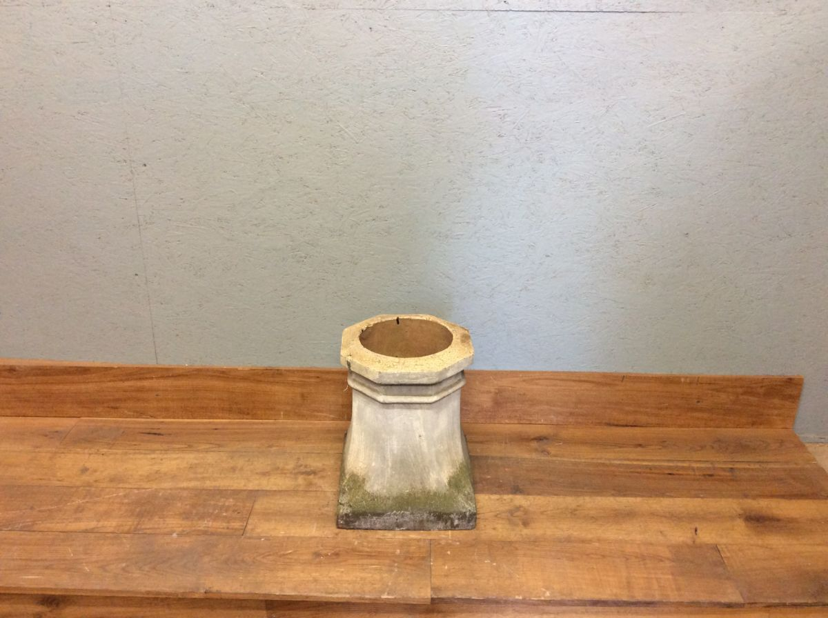 Square Based Octagonal Chimney Pot