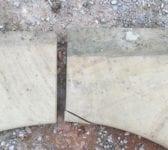 York Stone Circular Paving Feature Surround