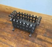 Rounded Scroll Rectangular Fire Basket