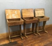Old School Single Desks