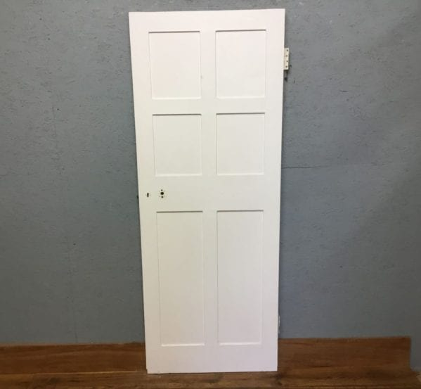White Reclaimed Internal 6 Panel Door
