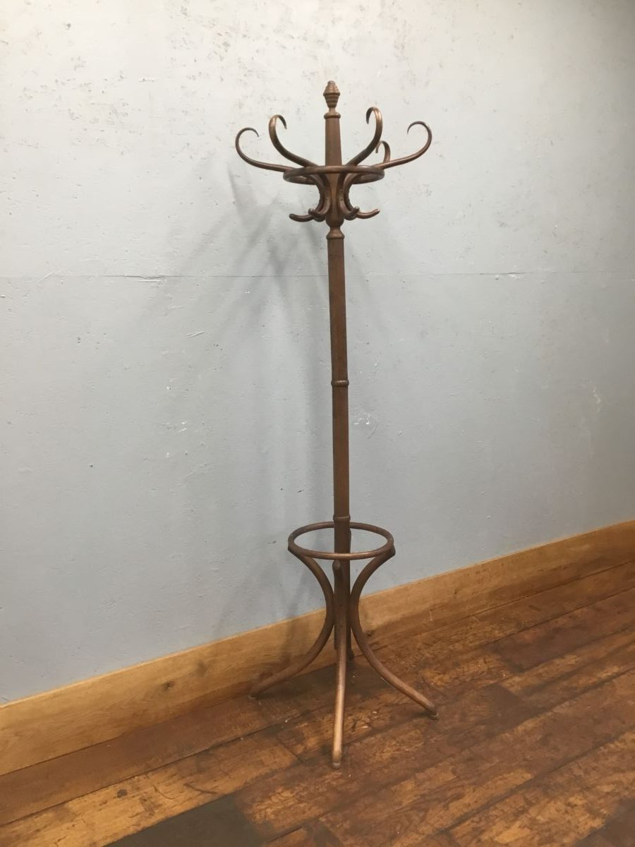 Dark Wood Hat Stand