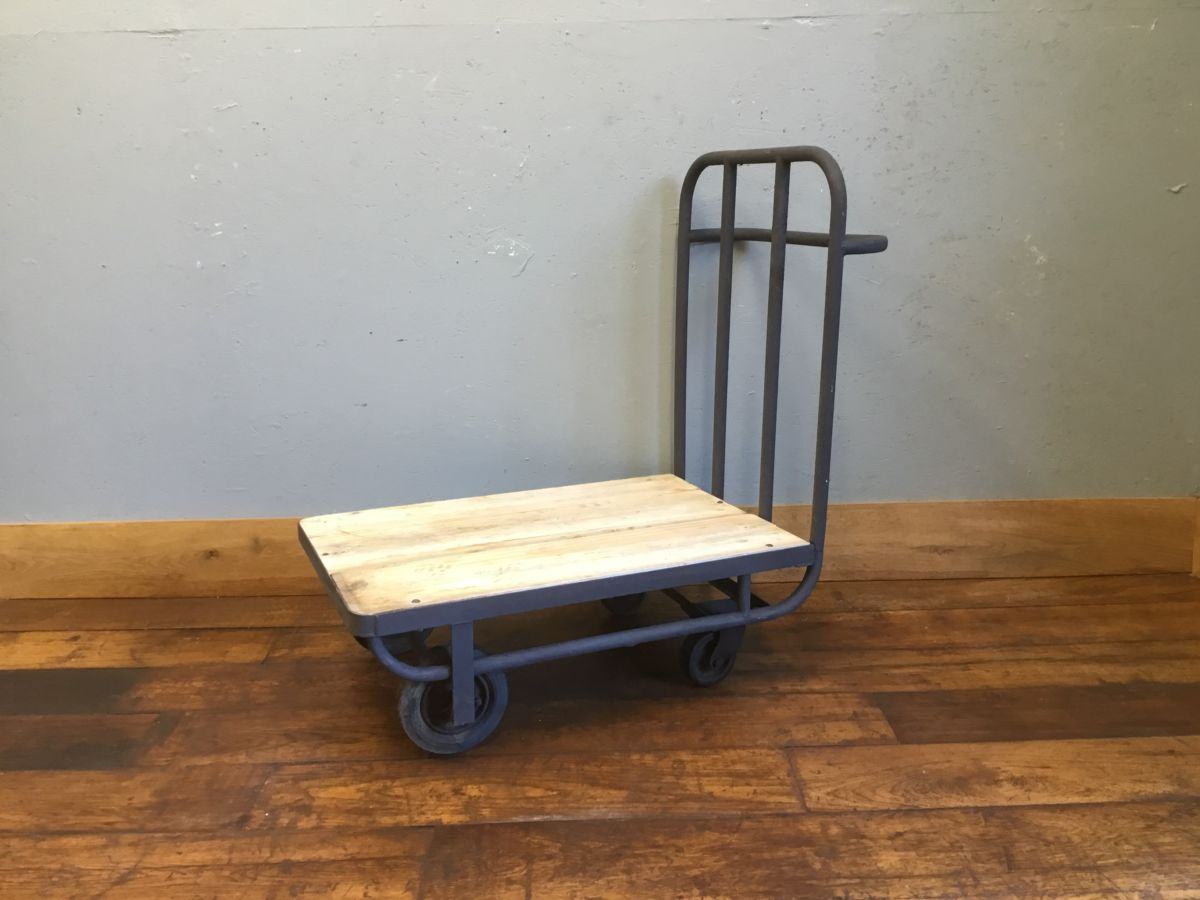 Cast Iron & Wooden Trolley