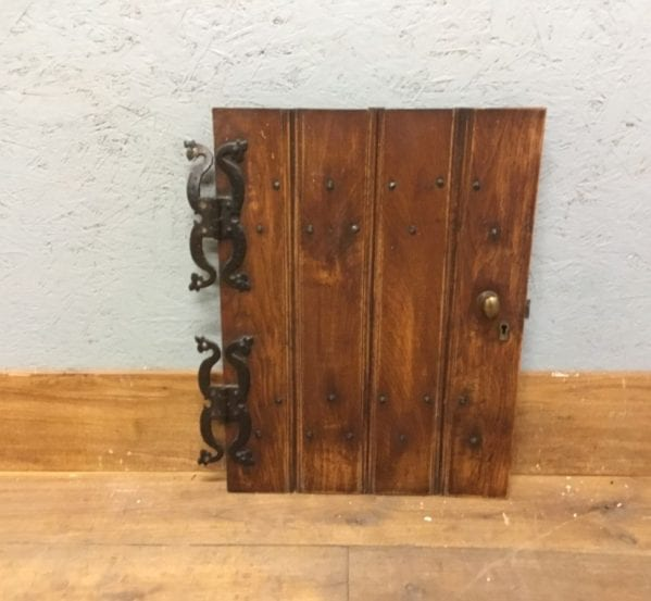 Small Ledge And Brace Cupboard Oak Reclaimed Door