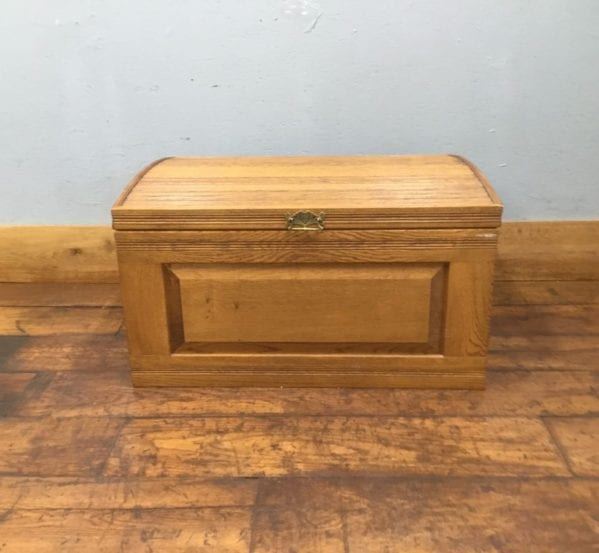 Handmade Large Oak Chest