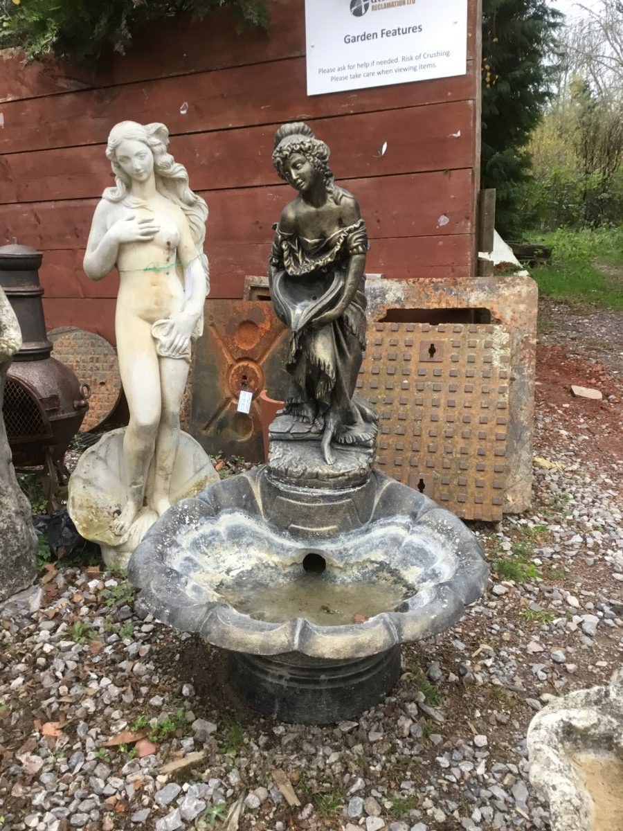 Lady & Urn Water Feature