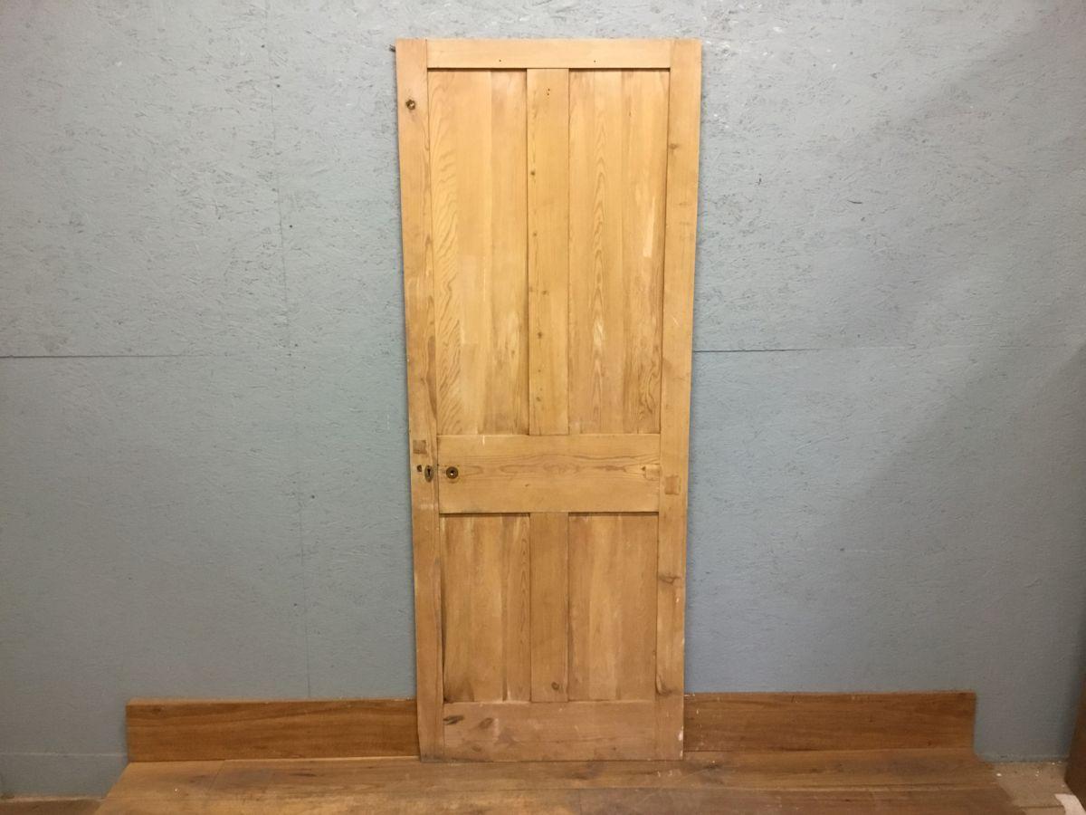 Pine Reclaimed Stripped 4 Panel Door