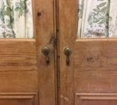 Reclaimed Curtained Double Doors