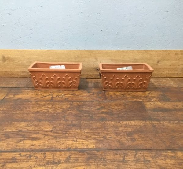 Decorative Rectangular Pots