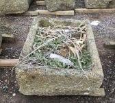 Reclaimed Angled Cornish Granite Trough