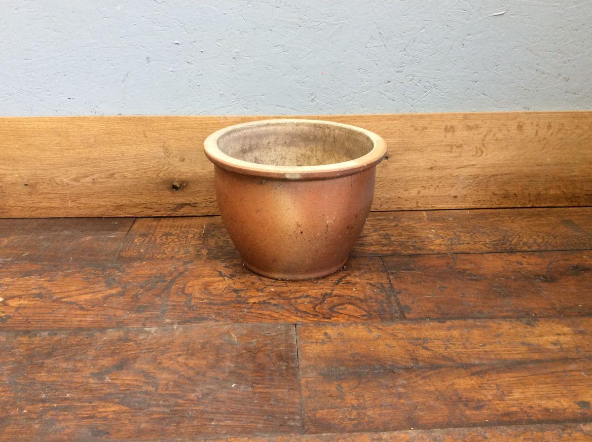 Matt Glazed Terracotta Pot
