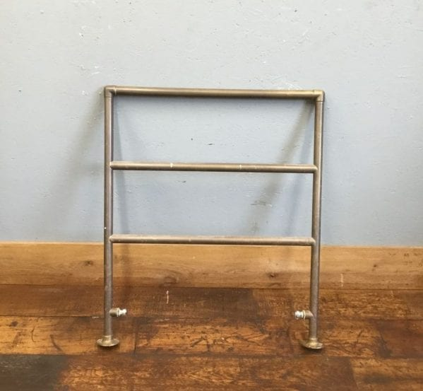 1930's Brass Heated Towel Rail