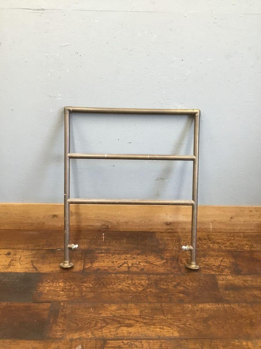 1930's Brass Heated Towel Rail