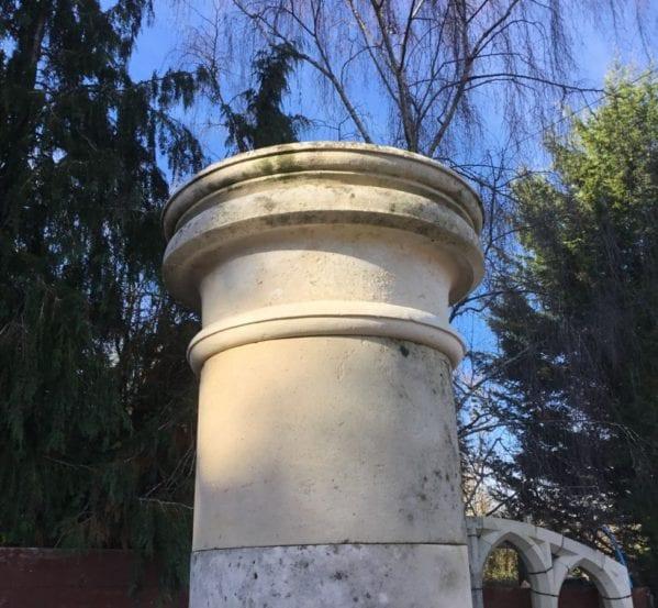 Grand Portland Stone Columns