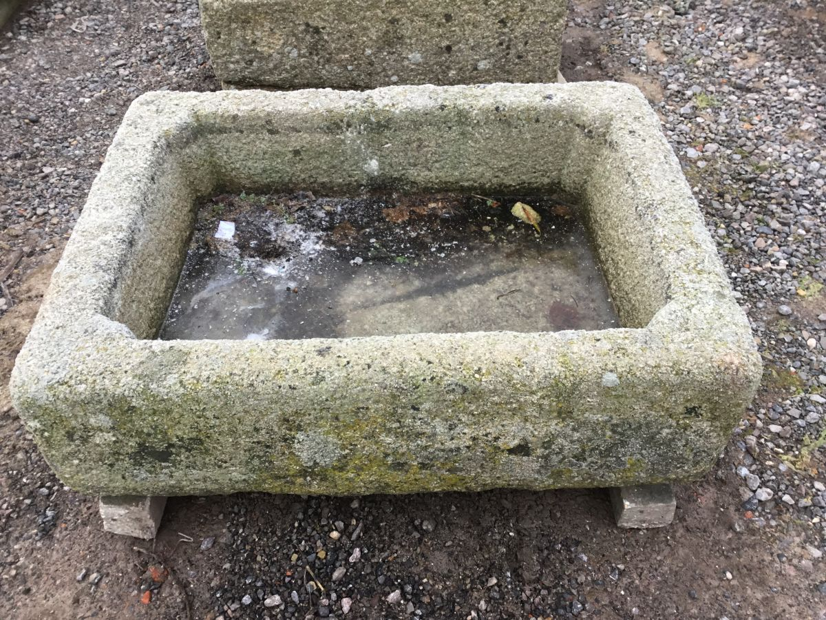 Cornish Granite Reclaimed Rectangular Trough