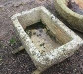 Reclaimed Cornish Granite Trough