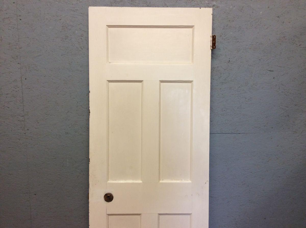 Medium White 5 Panelled Door