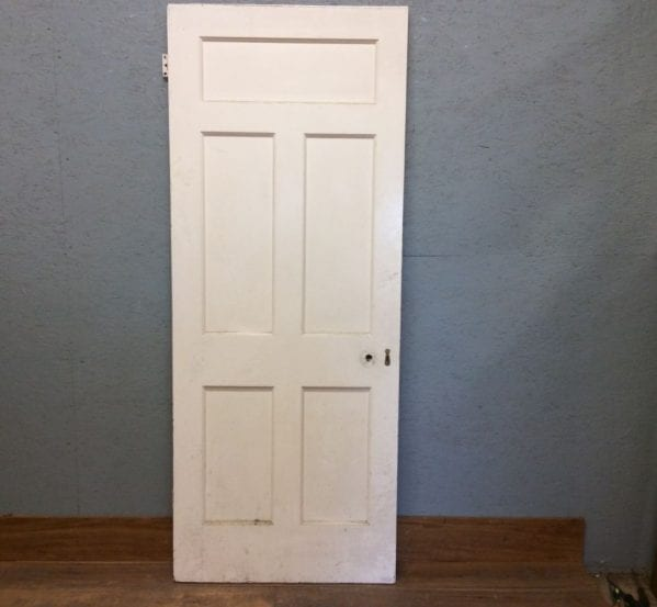 5 Panelled Door White & Large