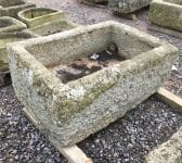 Rectangular Reclaimed Stone Garden Trough
