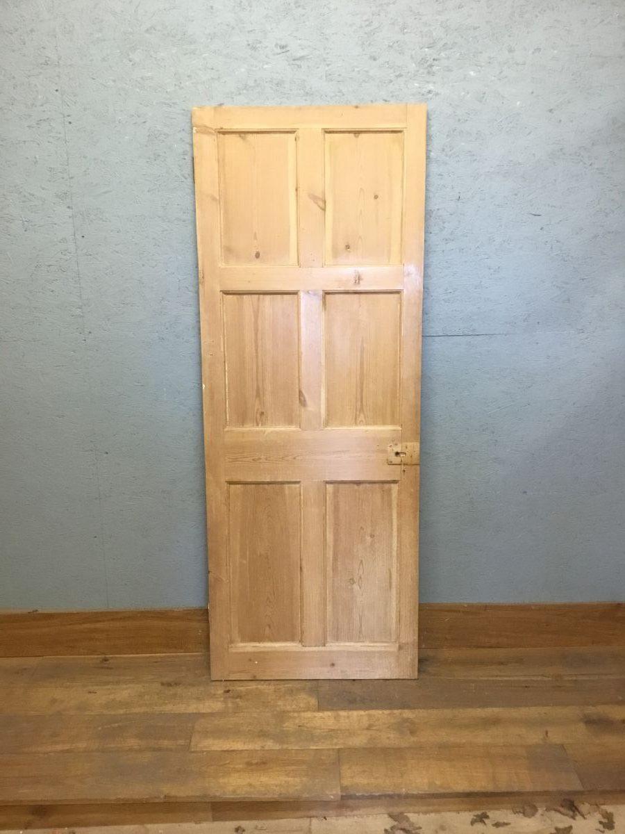 Stripped Solid 6 Panel Door