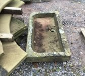 Shallow Reclaimed Stone Sink