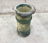 Reclaimed Painted Damaged Chimney Pot