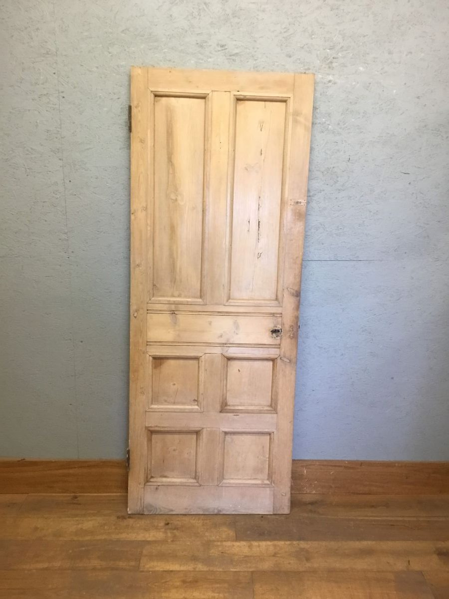 2 Over 4 Panel Panel Pine Stripped Door