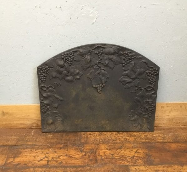Grapevine Cast Iron Fire Back