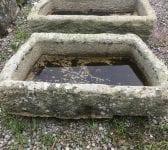 Angular Reclaimed Cornish Granite Trough