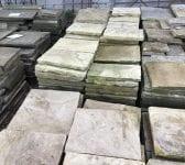 Reclaimed Buff York Stone Paving