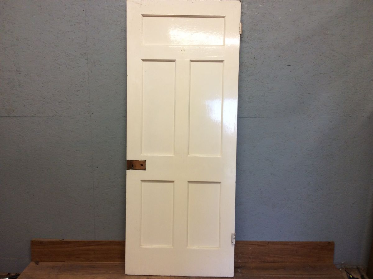 White Large 5 Panelled Door