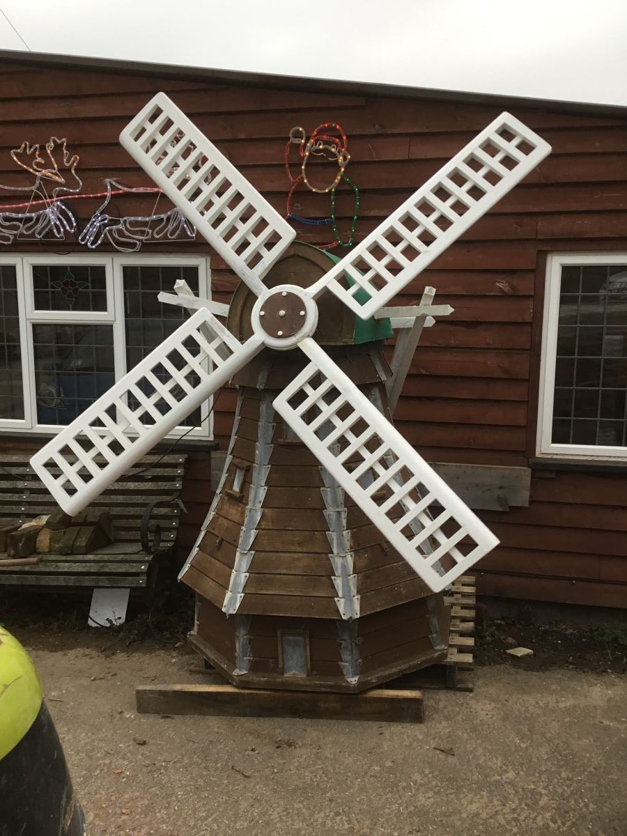 Large Rotating Windmill