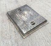Reclaimed Tunbridge Wells Man Hole Cover
