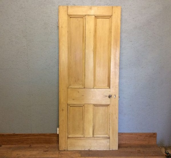 Stripped Prime 4 Panelled Door